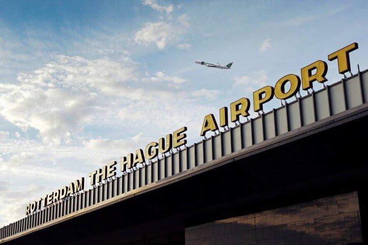 op vakantie vanaf Rotterdam airport